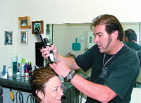 Oster Professional's David Guerin uses a clipper for every type of hairstyle.