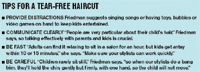 Tips For A Tear-Free Haircut