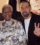 Nelson Mandela and John Paul DeJoria