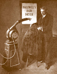 A state-of-the-art barber chair from Barker Specialties.