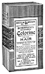 Scheffler's Instantaneous Colorine for the Hair claimed to be like nothing ever known in the history of the hair trade.