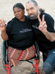 Maria Gulele and John Paul DeJoria