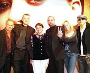 Winn Claybaugh, Paul Mantea, Elena Mantea, John Paul and Eloise DeJoria and Robert Cromeans.