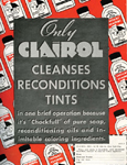 An early ad touted the fact that Clairol contained a foamy shampoo base and mild oils that cleaned and conditioned hair.