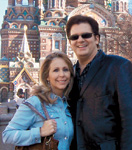 Karin and David Jenkins in Russia