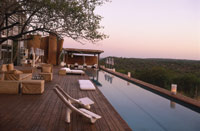 Guests staying at Singita Game Reserve enjoy Dermalogica products.
