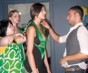 Ramirez with a model