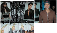 ABOVE: Performer Enrique Iglesias snagged a Joico gift bag; LEFT: Joico dished out gift bags for performers and VIPs filled with fabulous products.