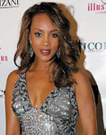 Vivica A. Fox stopped by the lounge.
