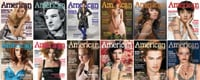 American Salon got a brand-new look this year. Here, all 12 covers.