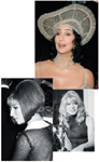 Clockwise, from top: Cher pushed the envelope in 1998; Julie Christie's long locks are as fresh today as they were in 1966; Barbra Streisand's graduated bob was picture-perfect in 1969.