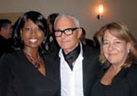 Mizani's Melka Davis, Vidal Sassoon and Cerminara.