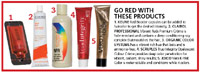 Go red with these products