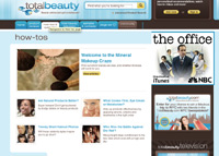 Totalbeauty.com provides users with thousands of beauty product reviews, how-tos and a forum.