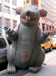 "You dirty rat: It's not unusual to see inflatable rats at businesses in New York City that hire nonunion workers. Maybe we should start ""ratting out"" diverters. What would your clients think if they saw one of these in front of their local Target or CVS?"