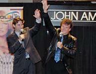 John Amico Jr. and John Amico Sr.