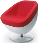 The Bubble chair from Gamma & Bross SPA brings pop art fun to the salon. gammabross.com