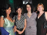 MANA's Myriam Bohi, American Salon's Lotus Abrams, MANA's Susan Criscione and American Salon's Jamie Corkran