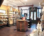 The retail area at the Civello Salon-Spa Rosedale location in Toronto