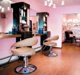 The styling stations