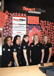 Sport Clips stylists raised money for Operation Uplink.