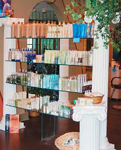 The retail area at The Hair-Designers