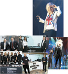 1. Natasha Bedingfield rocks out; 2. Redken Artistic Directors Sam Villa, Kris Sorbie and Chris Baran used Redken Iron Silk 07 ultra straightening spray to style the wig this model wears during the grand opening celebration; 3. Guy Wadas, Annette Irwin and Jeff Mertes of Integrity Payment Systems; 4. Gavin Salsbery and Dave Kirby of Summit Salon Business Center; 5. The team from The Salon Professional Academy; 6. Dan Gutfreund of Industry Outfitters and Jeff Grissler of Quest Resources.
