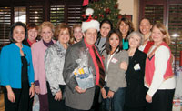 BIW board members support local causes at the Spirit of Giving event.