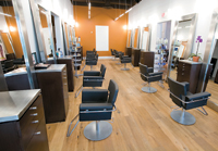 Paris Parker Aveda Salon and Spa at Perkins Rowe, Baton Rouge, LA