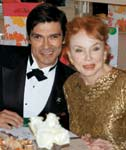 2. Jeraldine Saunders, who wrote the book the popular TV series The Love Boat was based on, and Donaldo Monroy.
