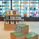 Christie & Co.'s retail display was expertly designed to create a buying environment.