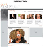Curlstylist.com caters to stylists who work on curls.
