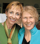 Martha Beck and Marie Ferro bond at Londolozi.