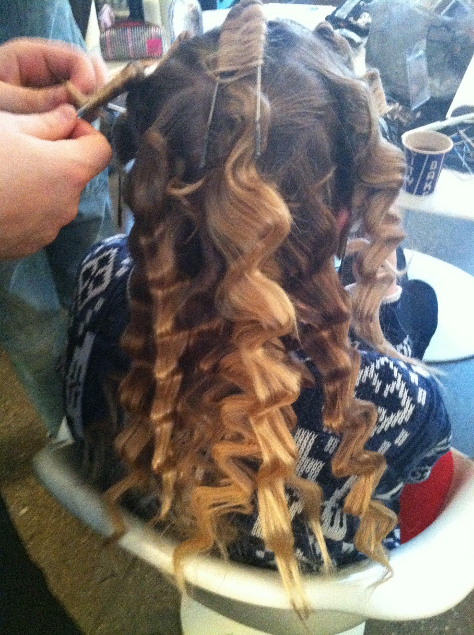 Releasing the curls