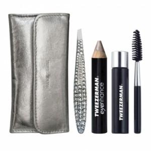 Tweezerman - Lux Edition Mini Crystal Brow Kit