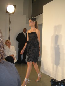 A look from the Behnaz Sarafpour show