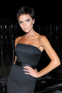 Victoria Beckham shows off her new pixie cut at Marc Jacobs