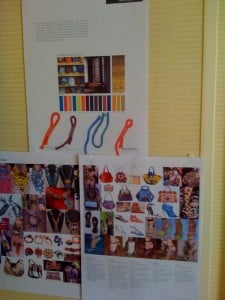 CND's Summern 2009 inspiration wall