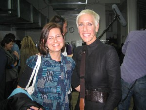 Me with CND's Jan Arnold