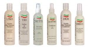La Brasiliana Presents Keratin Treatment With Collagen American Salon