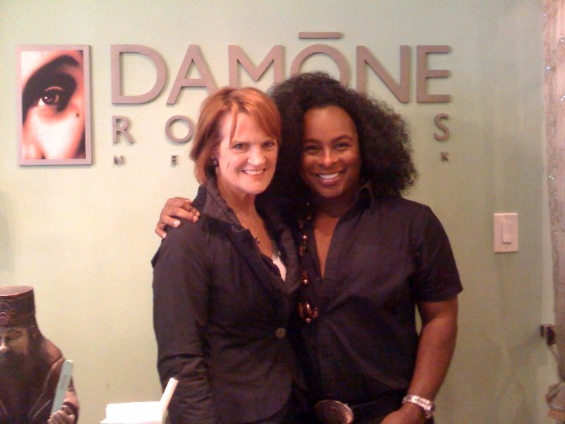 Redken's Ann Mincey and Roberts