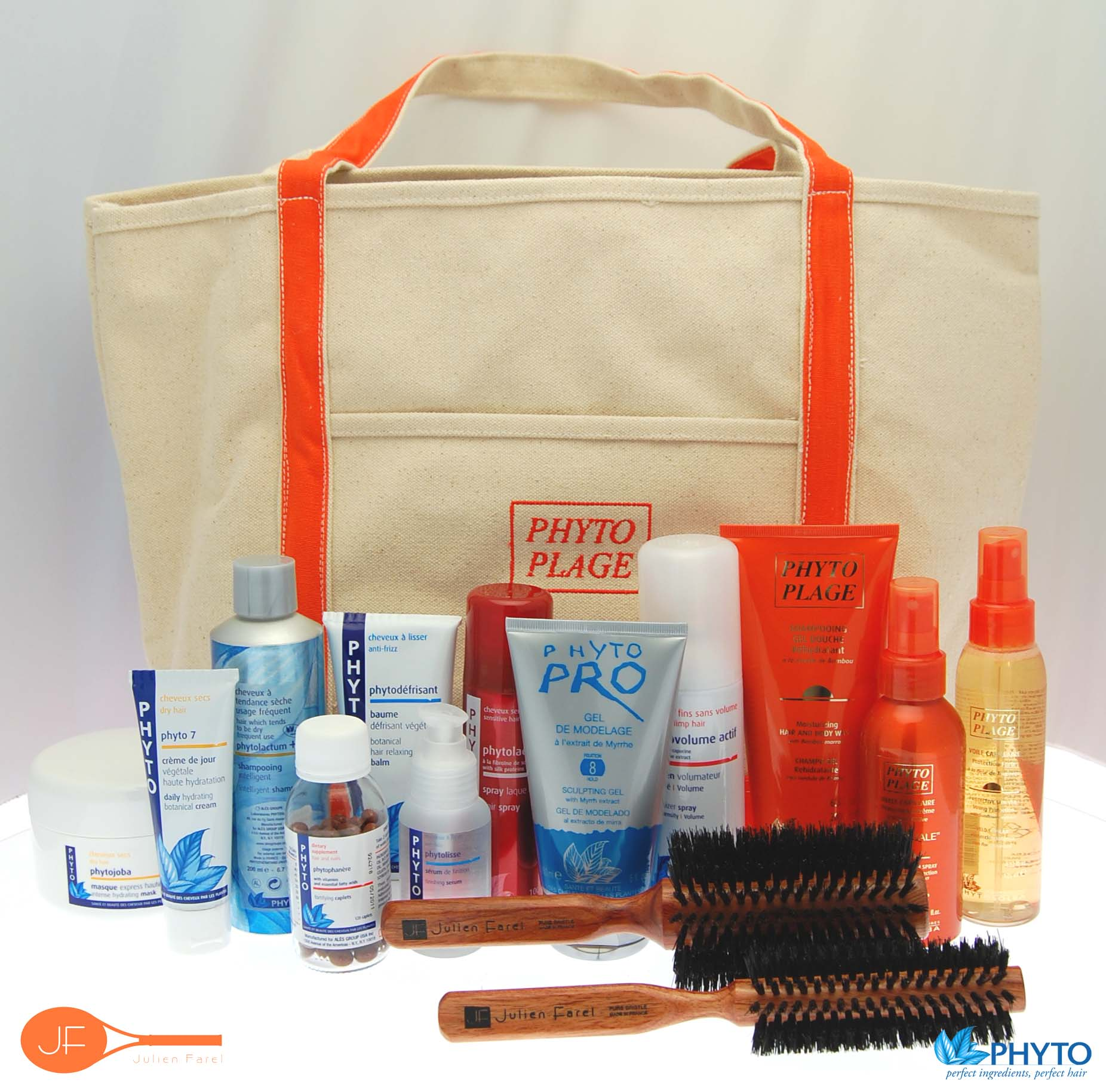 The top 40 US Open tennis players will receive this Phyto gift bag.