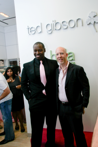 Ted Gibson and Jason Backe celebrate their latest endeavor