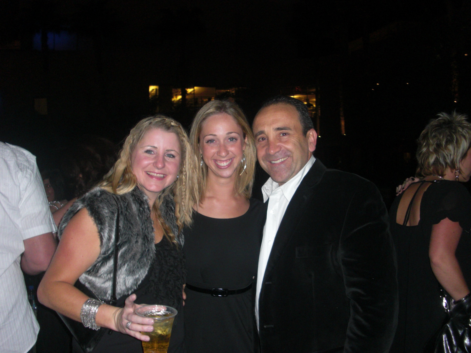 Me being flanked by Goldwell Media Relations Manager Paige Fadden and Mario Argenti, President/CEO of KPSS North America