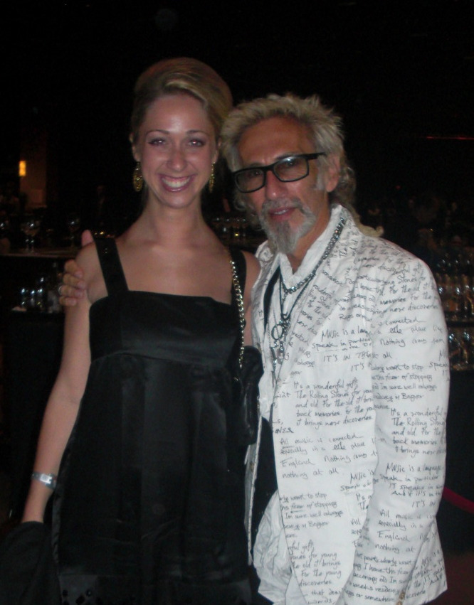 Posing with industry icon (and Color Zoom international judge) Robert Lobetta