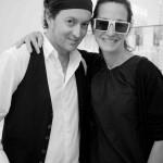 Davide Torchio and Cynthia Rowley