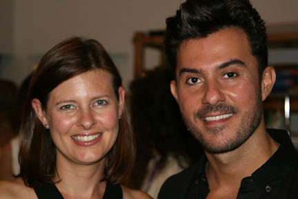 American Salon's Lotus Abrams and Joico celebrity stylist George Papanikolas