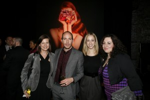 Lotus Abrams, stylist Craig Piati, Lori Morris and PR guru Christine Galasso