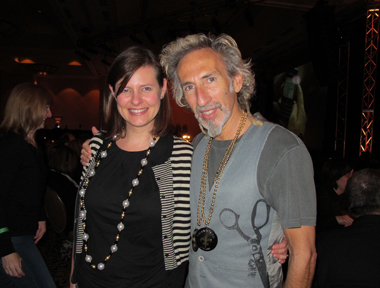 American Salon's Lotus Abrams with Robert Lobetta