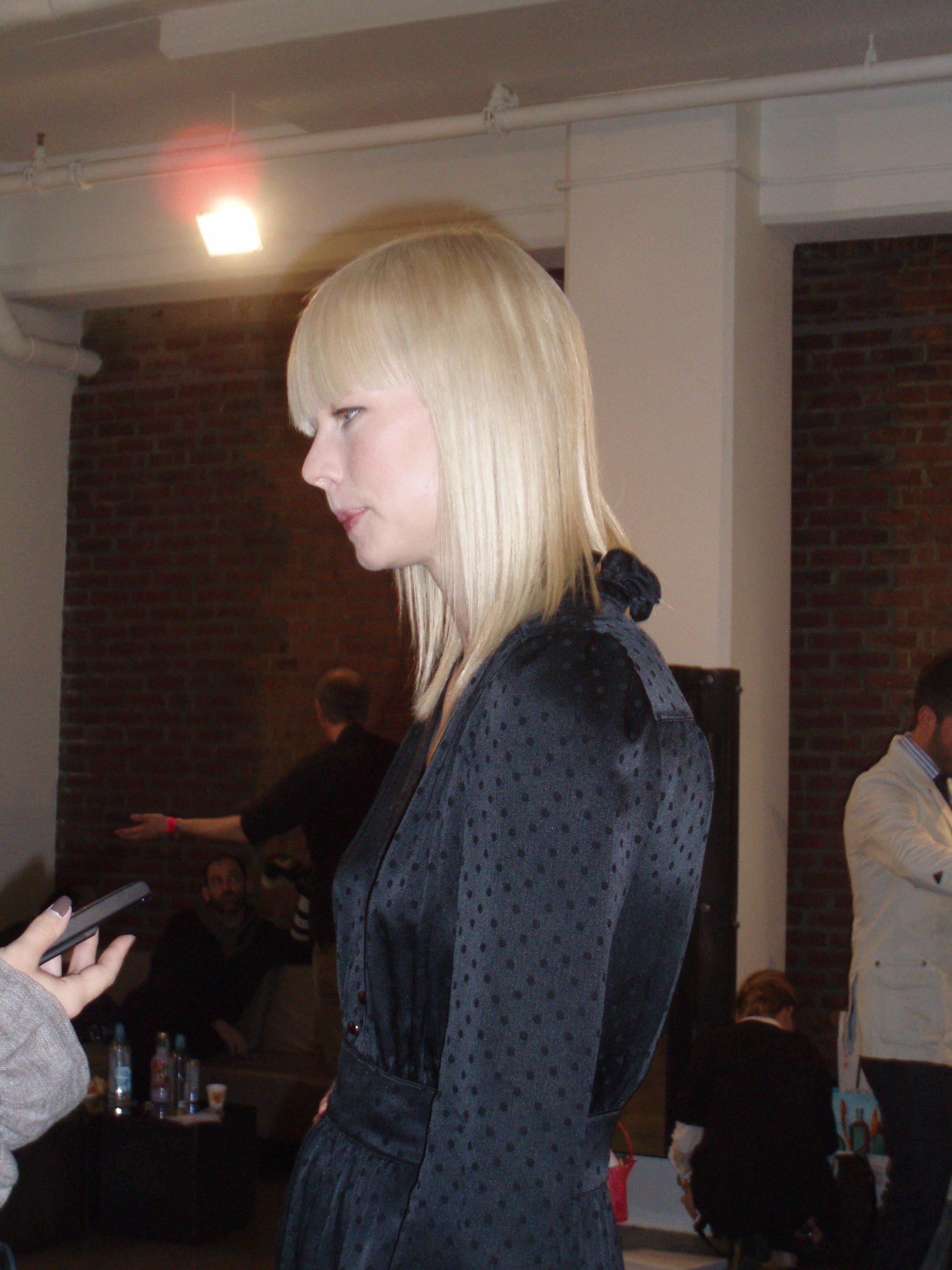 The designer, Erin Fetherston